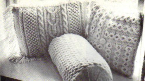 подушки-чб