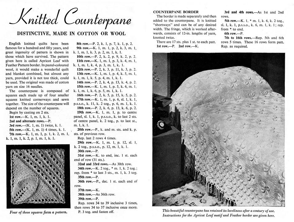 1940's Counterpane