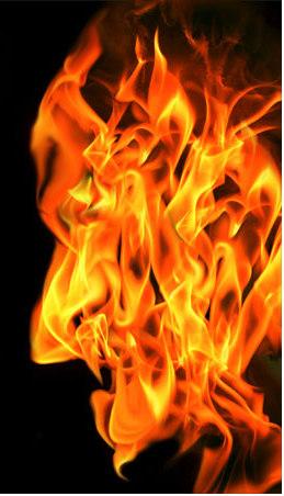 огонь-лицо