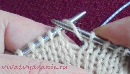 накиды спицами подробно для начинающих