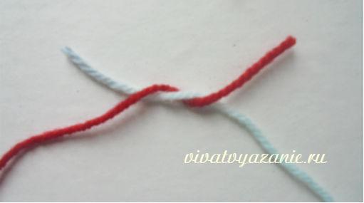 соединение нитей при вязании надёжные способы
